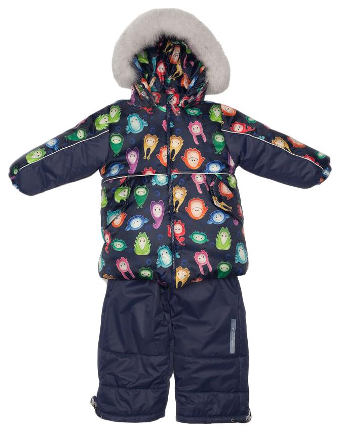 Комплект верхней одежды детский MalekBaby Монстры на синем р.98