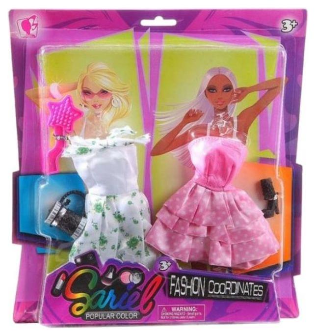 Купить Набор одежды и аксессуаров Junfa Toys Fashion Cooronates, для куклы высотой 29 см 3311-B, Одежда для кукол