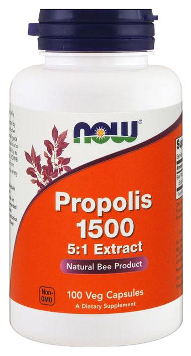 Купить Добавка для здоровья NOW Propolis 100 капс.
