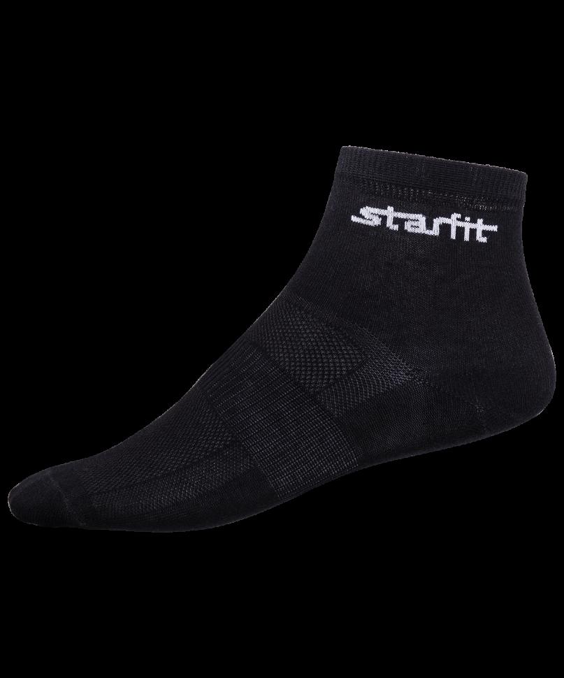 Носки StarFit SW-204, черные, 43-46 EU