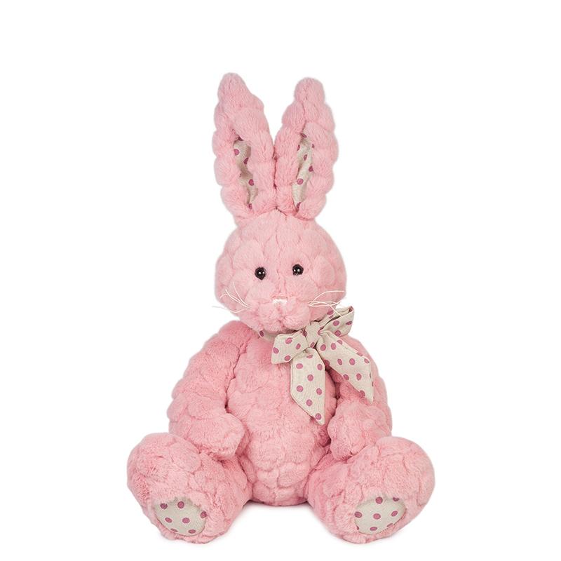 Купить Мягкая игрушка MAXITOYS MT-TS112017-4-30S Зайка Пинки 30 см, Мягкие игрушки животные