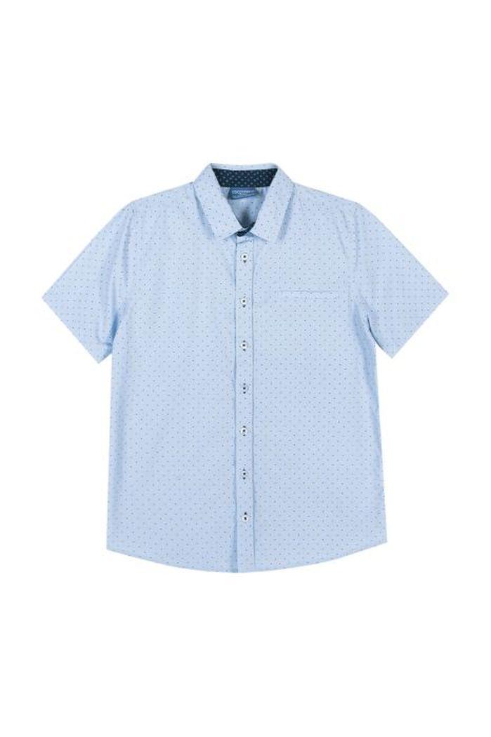 Купить W19136201EJB, Рубашка для мальчиков COCCODRILLO р.116, Детские блузки, рубашки, туники