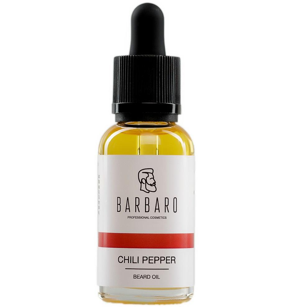 Масло для роста бороды Barbaro Beard Oil Chili