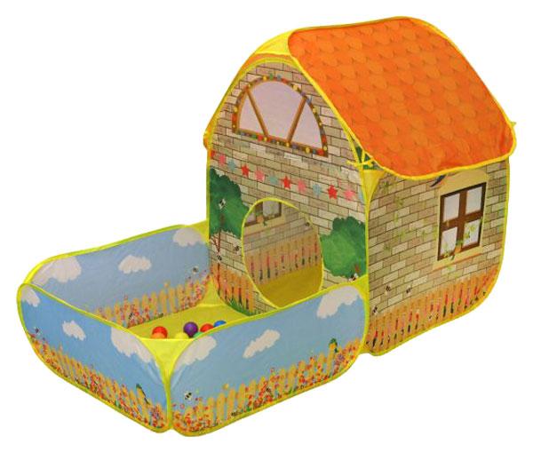 Игровая палатка Наша Игрушка Загородный дом 333A-103