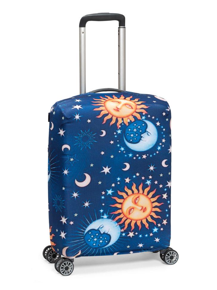 Чехол для чемодана Mettle Ночь S ручная кладь фото