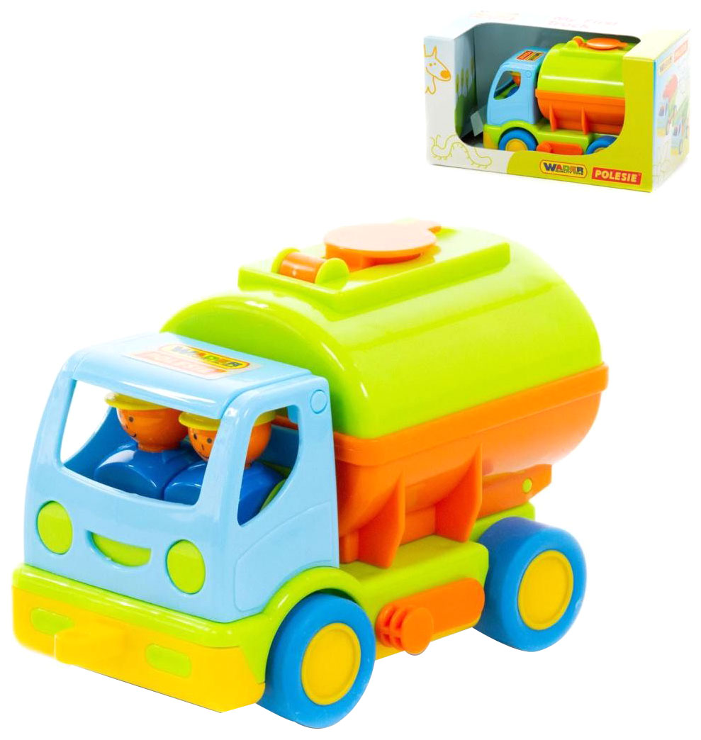 Купить Игрушки, Автомобиль с цистерной Wader Мой первый грузовик, Игрушечные машинки