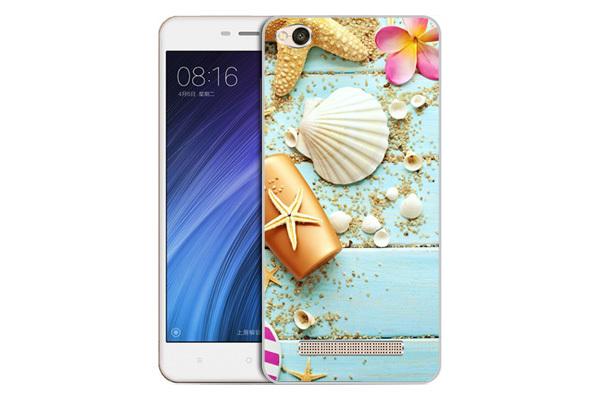 Чехол Gosso Cases для Xiaomi Redmi 4A  «Пляжный натюрморт»