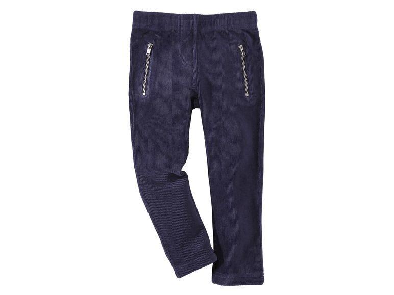 Купить Брюки для девочки Lupilu синие р.110-116, Детские брюки и шорты