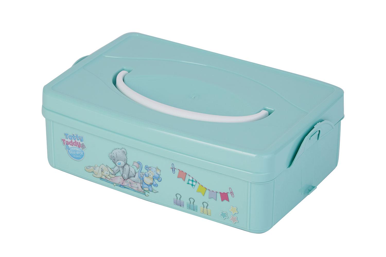 Ящик для хранения игрушек Бытпласт Me To You зеленый
