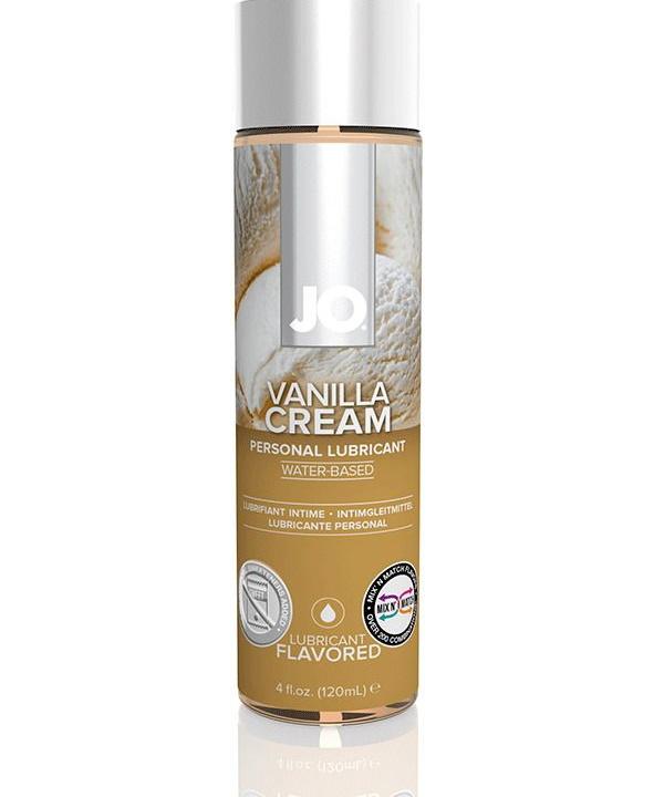 Купить Waterbased ваниль, Гель-смазка JO Flavored Vanilla H2O на водной основе с ароматом ванили 120 мл, System JO