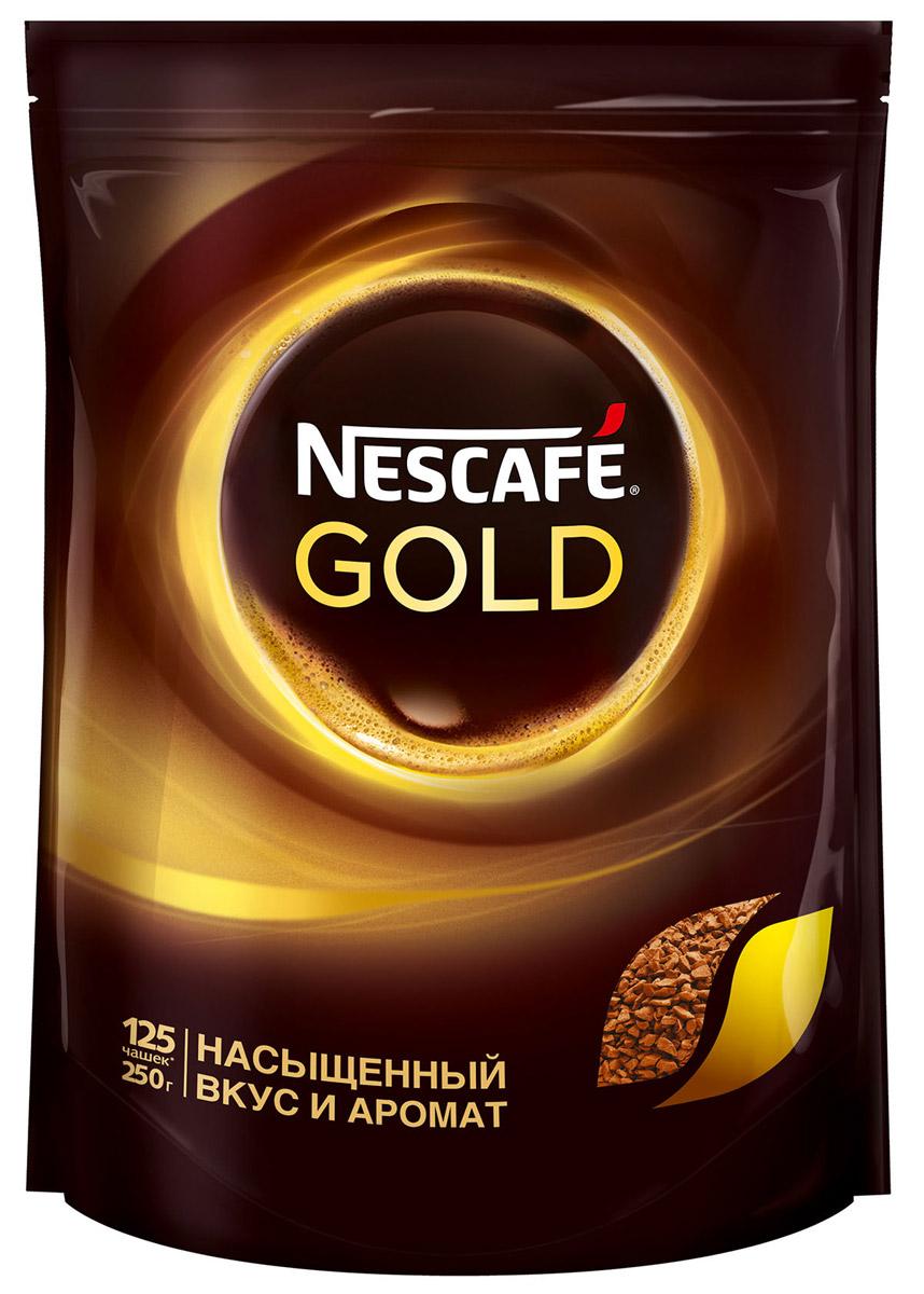 Кофе Nescafe Gold 100% растворимый сублимированный 250 г фото