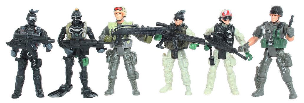 Игровой набор Солдатики SWAT Counter-Strike 5898-A35 в ассортименте