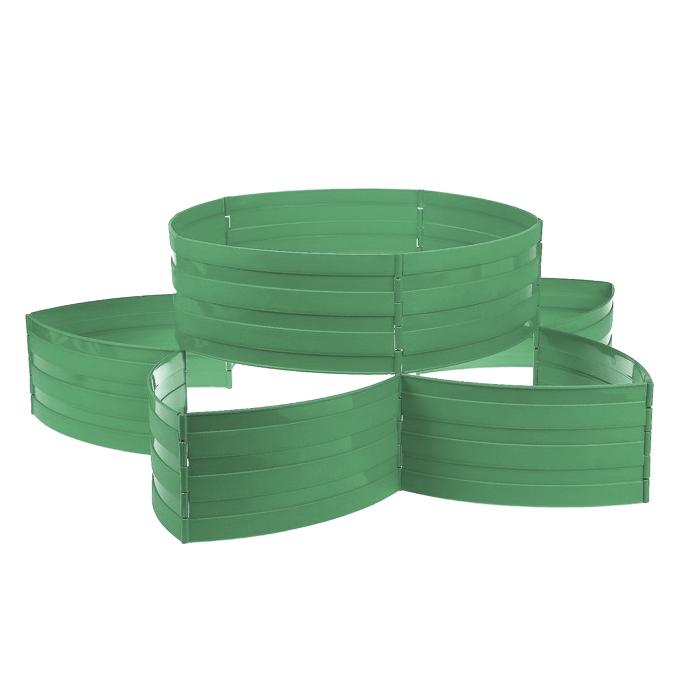 """Садовый конструктор """"Клумба"""" темно-зеленый"""