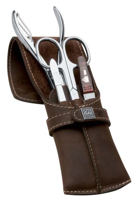 Купить Маникюрный набор Erbe Solingen 4 предмета, коричневый