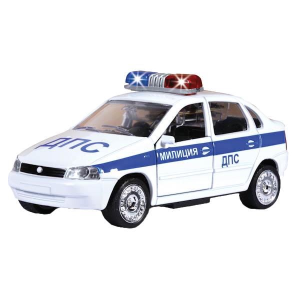 Купить Полицейская Машинка Технопарк Лада Калина ДПС 1:32,