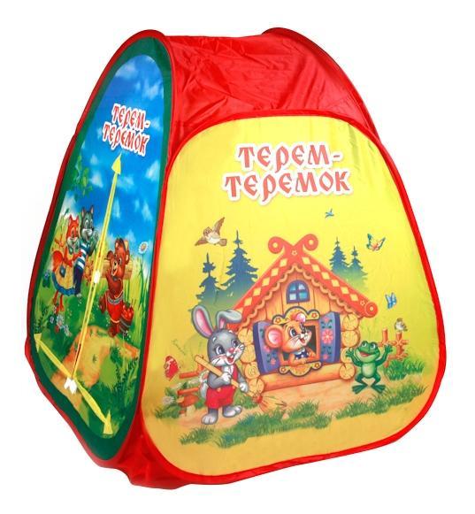Купить Детская игровая палатка играем вместе gfa-terem01-r, Играем Вместе, Игровые палатки