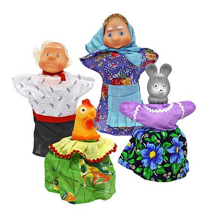 Игровой набор Русский Стиль Кукольный театр Курочка Ряба мал 11253