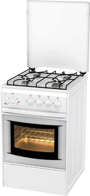 Комбинированная плита Flama AK 1411 W White