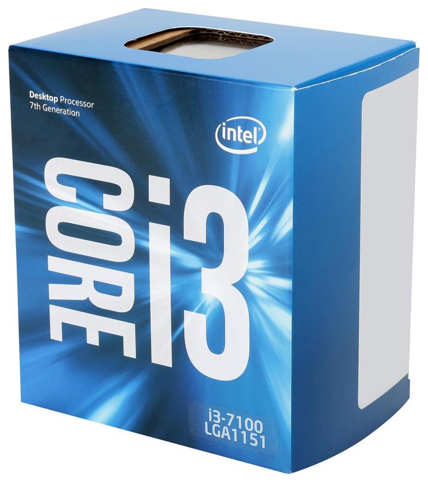 Процессор Intel Core i3 7100 Box