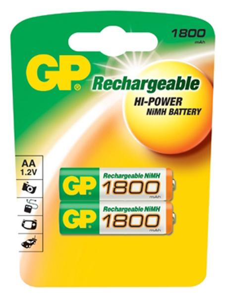 Аккумуляторная батарея GP Batteries 180AAHC UC2