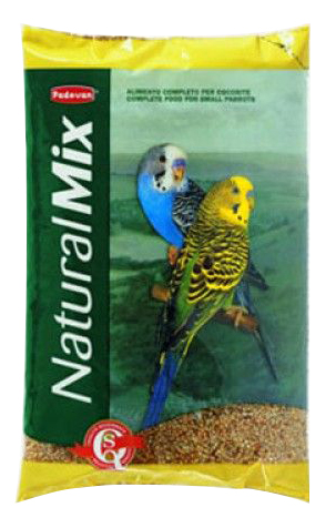 Основной корм Padovan для волнистых попугаев 1000 г, 1 шт фото