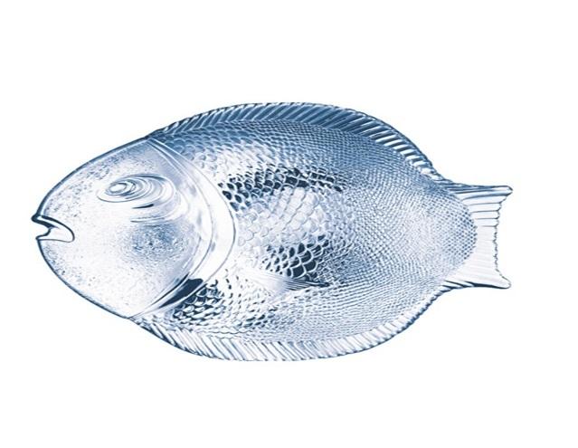 Блюдо Pasabahce Рыба PSB 10258 Прозрачный