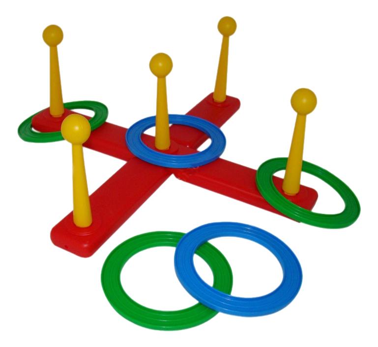 Купить Набрось кольцо, Развивающая игрушка Полесье Набрось кольцо,
