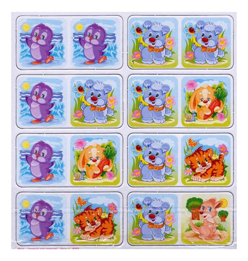 Купить Домино для девочек, Семейная настольная игра Origami Домино 6303 Дм, Для Девочек, origami, Семейные настольные игры