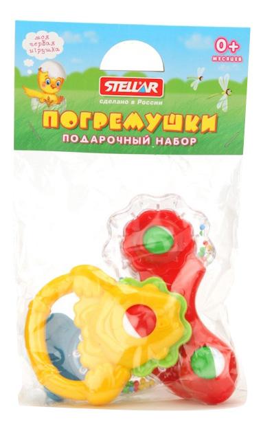 Погремушка STELLAR Погремушки STELLAR Набор №4 01584 фото