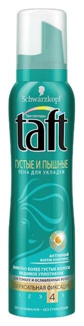 Средство для укладки TAFT Пена Густые