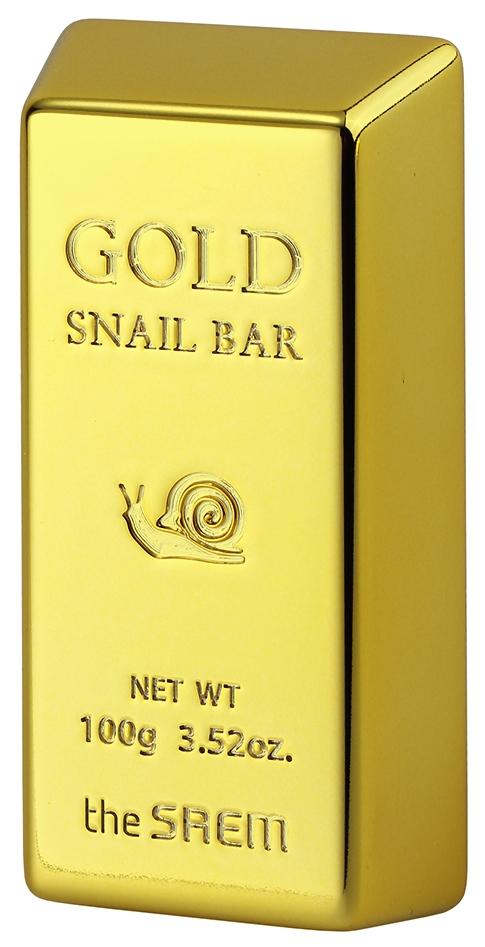 Косметическое мыло the SAEM Gold Snail
