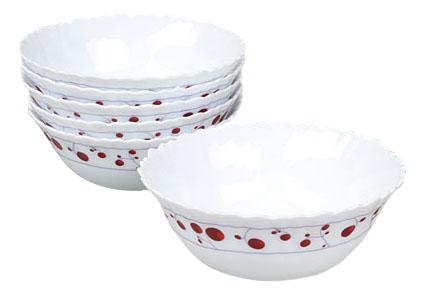 Набор суповых тарелок, 18см (6шт) фото