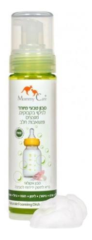 Средство для мытья детской посуды Mommy Care Natural Foaming Dish and Bottle Soap 230 мл