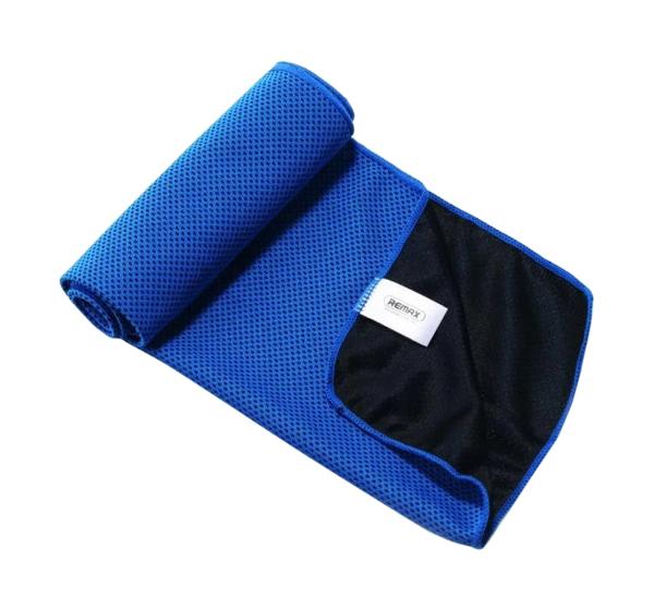 Банное полотенце, пляжное полотенце, полотенце для ног Remax синий