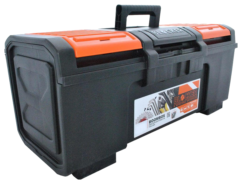 Пластиковый ящик для инструментов Blocker Boombox 24