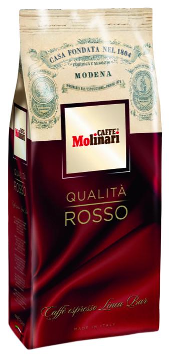 Кофе в зернах Molinari rosso 1000 г фото