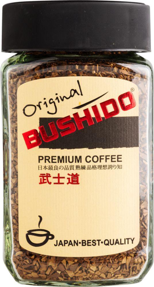 Кофе растворимый Bushido original 100 г фото