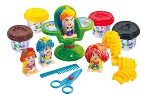 Набор для лепки из пластилина Playgo Парикмахер