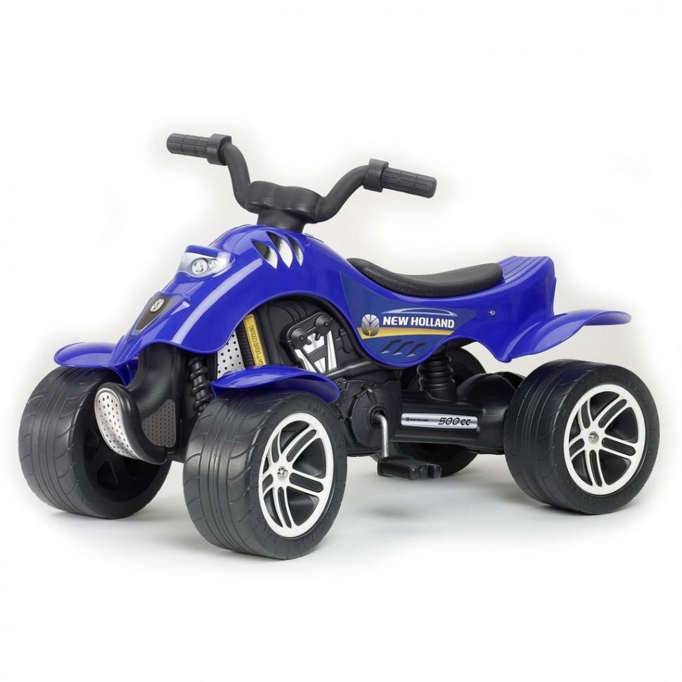 Купить 611, Квадроцикл Falk синий педальный 84 см, Каталки квадроциклы