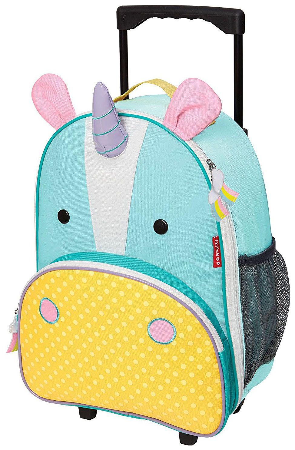 Купить Чемодан детский Skip Hop Zoo Luggage Единорог SH 212312,