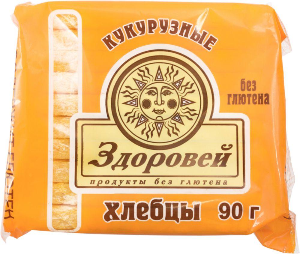 Хлебцы Здоровей кукурузные 90 г фото