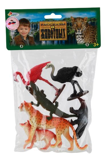 Купить Игровой набор Животные Северной Америки, 6 штук Играем вместе, Играем Вместе, Фигурки животных