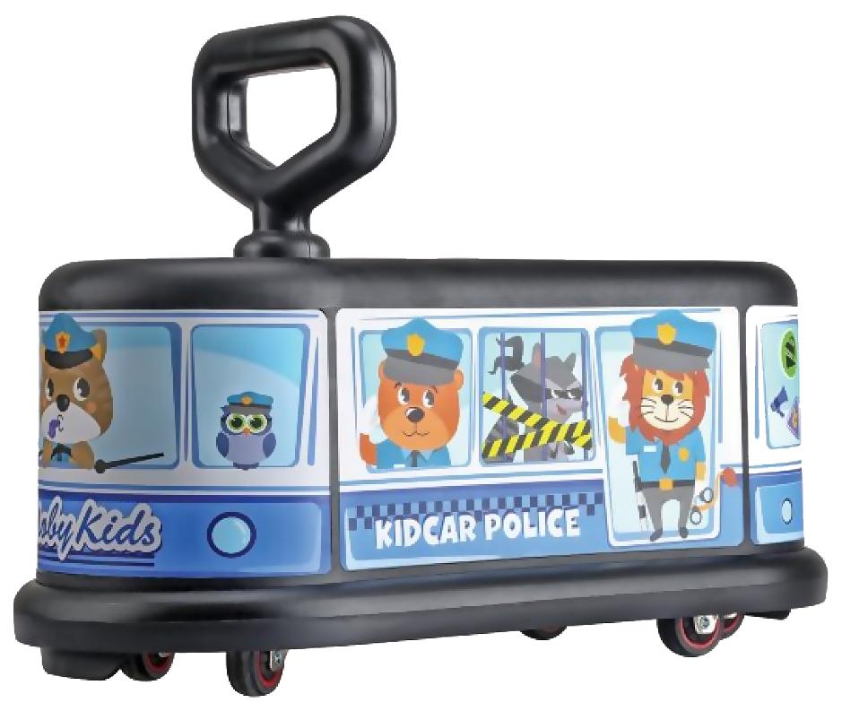 Купить Средняя, Каталка детская Moby kids KidCar полиция 49459, Машинки каталки