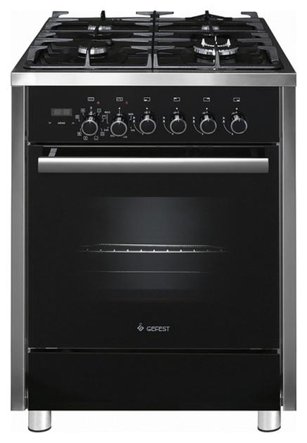 Комбинированная плита GEFEST ПГЭ 6702-04 Black