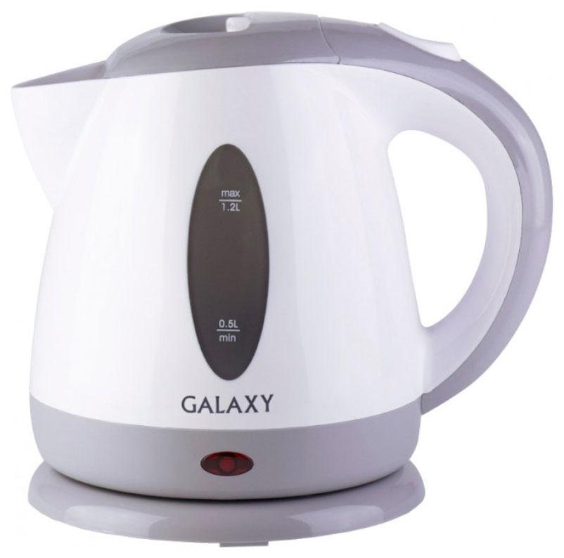 Чайник электрический Galaxy GL 0222 White/Grey