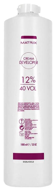 Крем-оксидант Matrix Cream Developer Vol 40 12% 1000 мл