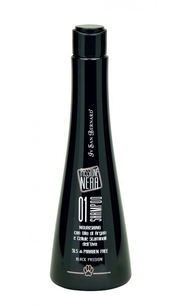 Шампунь для кошек и собак ISB SPA Line Black Passion питательный, масло арганы, 250 мл