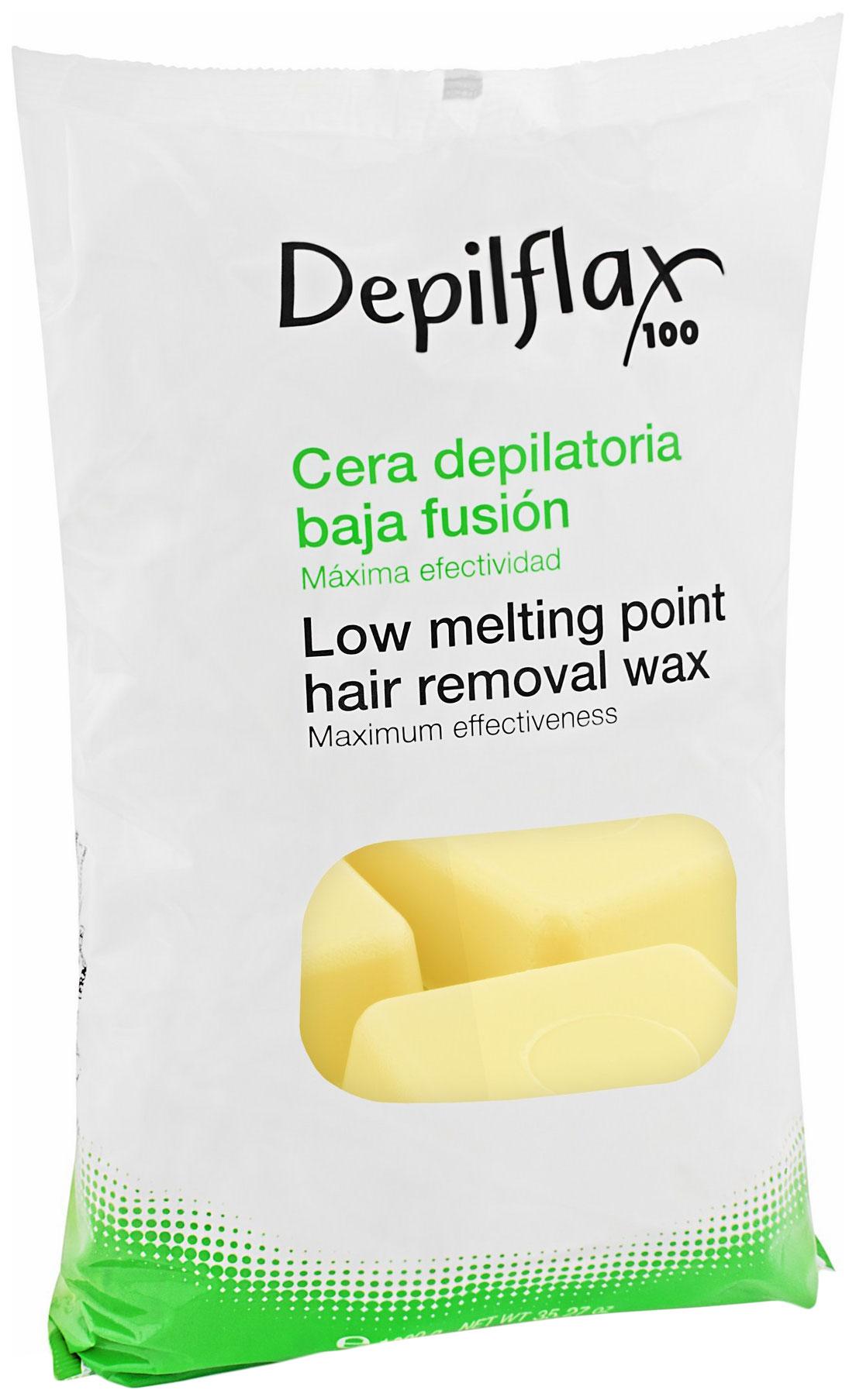 Воск для депиляции Depilflax Слоновая кость
