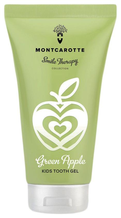 Купить Детский зубной гель MontCarotte Green Apple,
