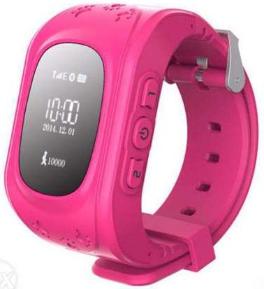 Детские смарт-часы Smart Baby Watch Q50 Pink/Pink